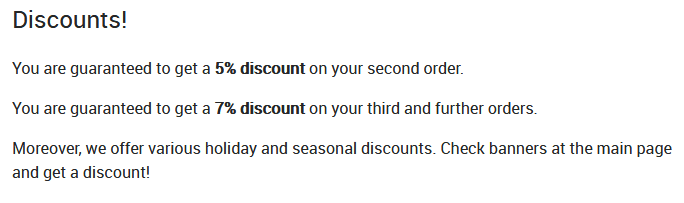 Other Discounts at Directpharma